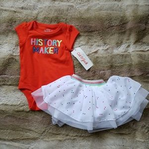 NWT Cat & Jack outifit